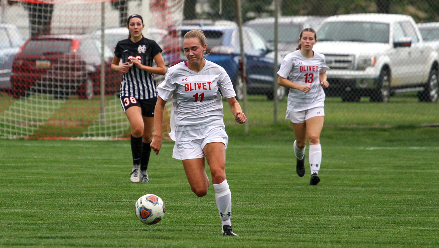 Women's soccer team shuts out North Central, 2-0