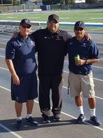 (L-R) Frank Mazzotta, Steve Lopez and Poonie Estrada