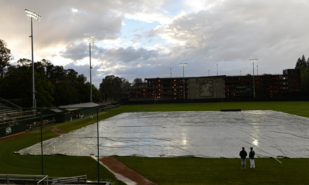 BASEBALL OPENER POSTPONED; DOUBLEHEADER NOW STARTING AT 3 PM SATURDAY