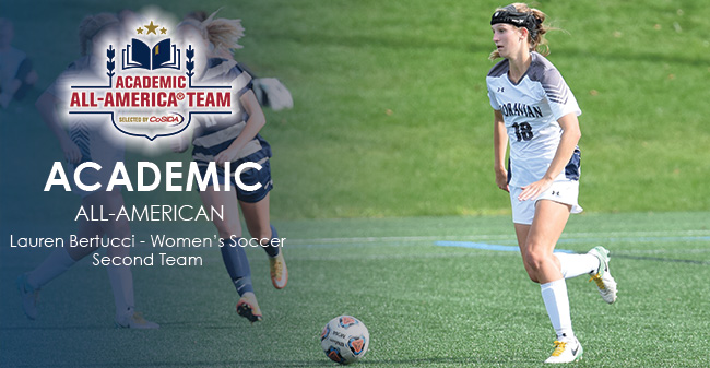 Lauren Bertucci '18 has been named to the 2017 CoSIDA Academic All-America Second Team.
