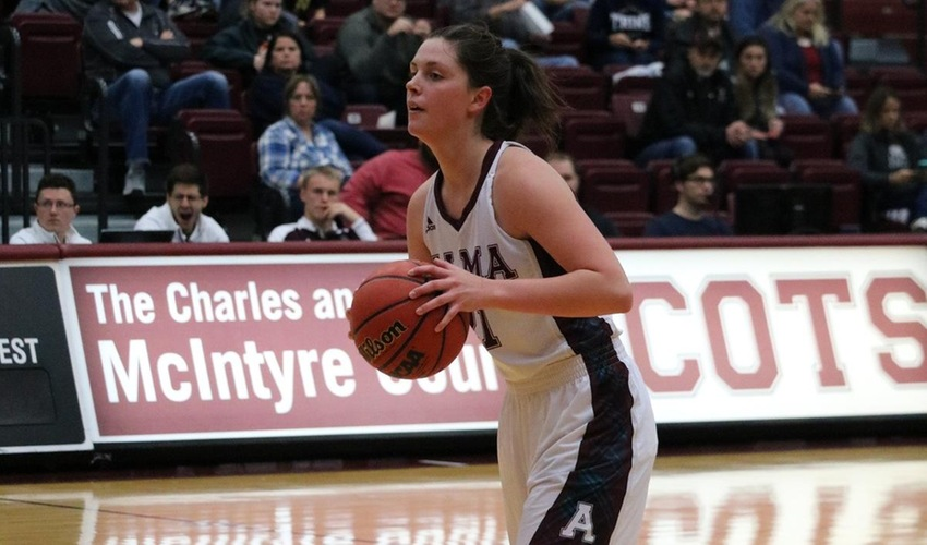 Women's Basketball Finishes Non-Conference Schedule With Loss