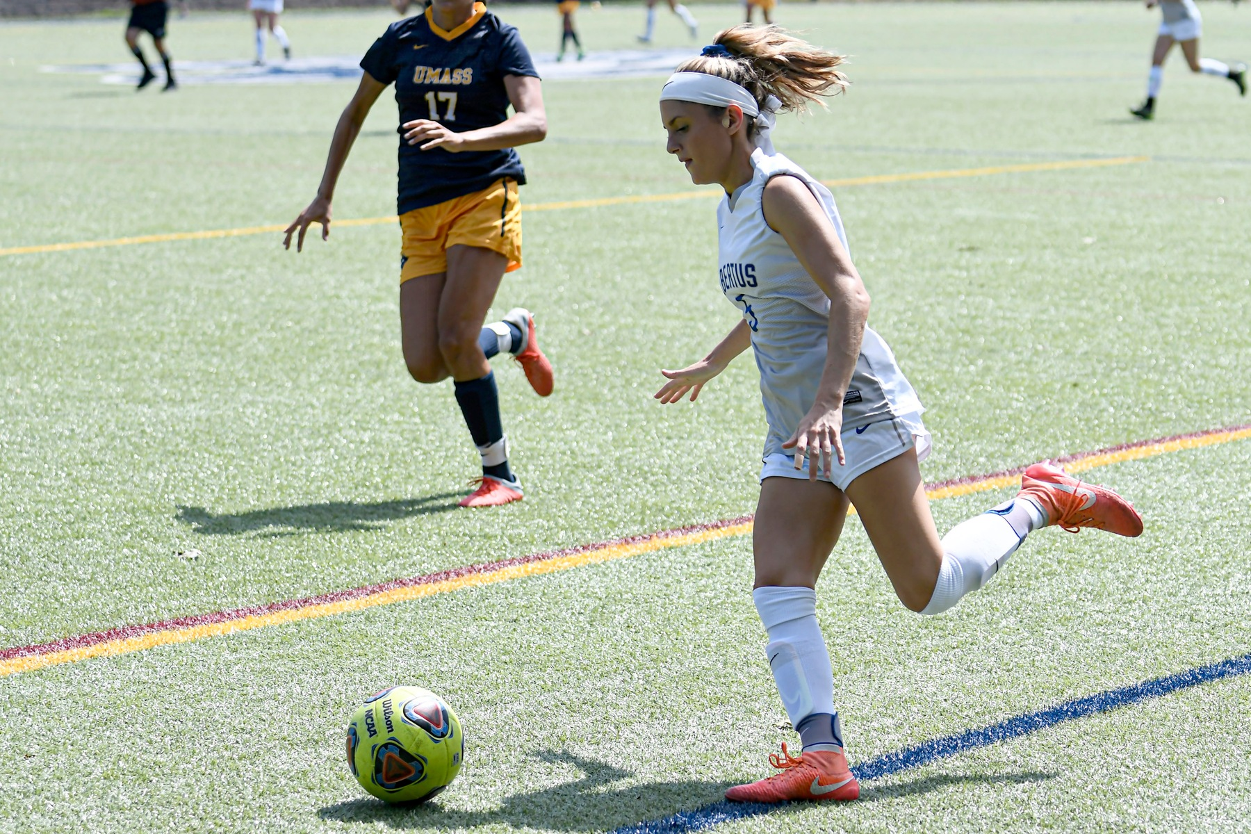 Women's Soccer Drops GNAC Contest to Colby Sawyer