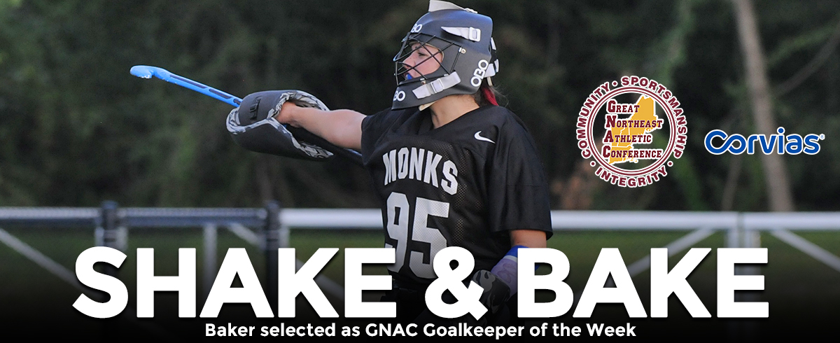 Baker Tabbed as GNAC Goalkeeper of the Week