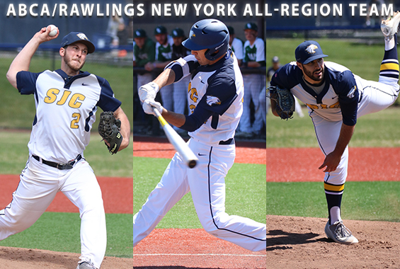 Outsen, Doria, and Lubrano Earn ABCA/Rawlings All-Region Honors