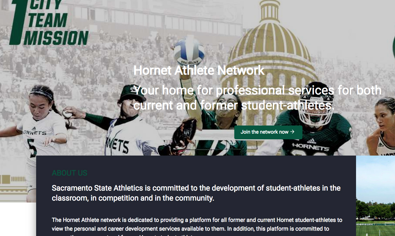 SACRAMENTO STATE ATHLETICS ADOPTS BRANDED NETWORK POWERED BY ATHLETE NETWORK