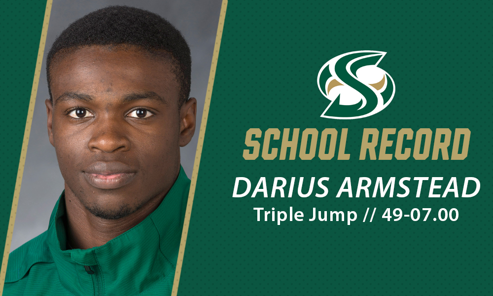 ARMSTEAD SETS SCHOOL RECORD IN TRIPLE JUMP AT HUSKY CLASSIC