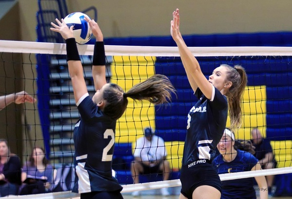 Volleyball Cruises Past USC Salkehatchie