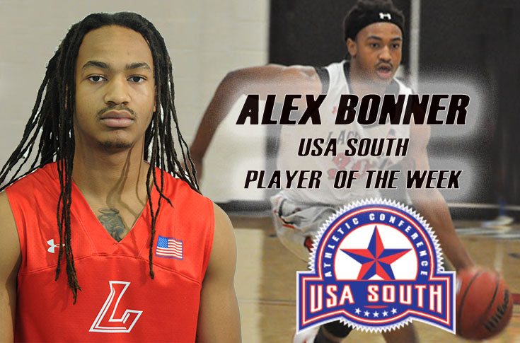 2017-18 in Review: Alex Bonner selected as USA South Player of the Week