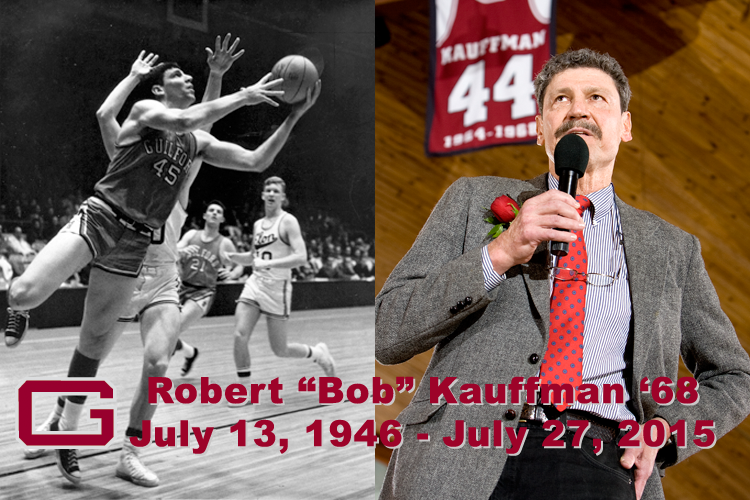 Guilford Mourns Passing of Bob Kauffman '68