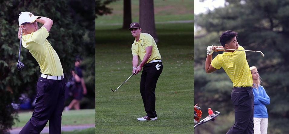 Jimmy Clark, Hunter Miller and Roni Shin earned All-OAC honors