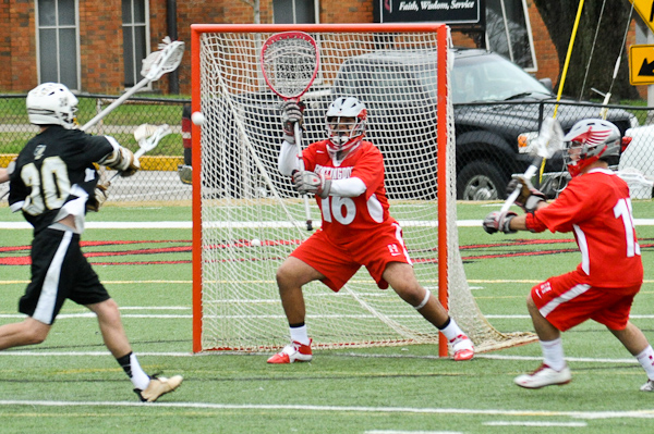 Works' late goal leads Huntingdon men's lacrosse past Augustana