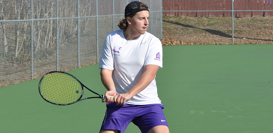 Men's Tennis Team Opens Spring Season With A Loss