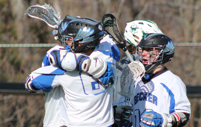 Men's Lacrosse Downs Mustangs, 9-8
