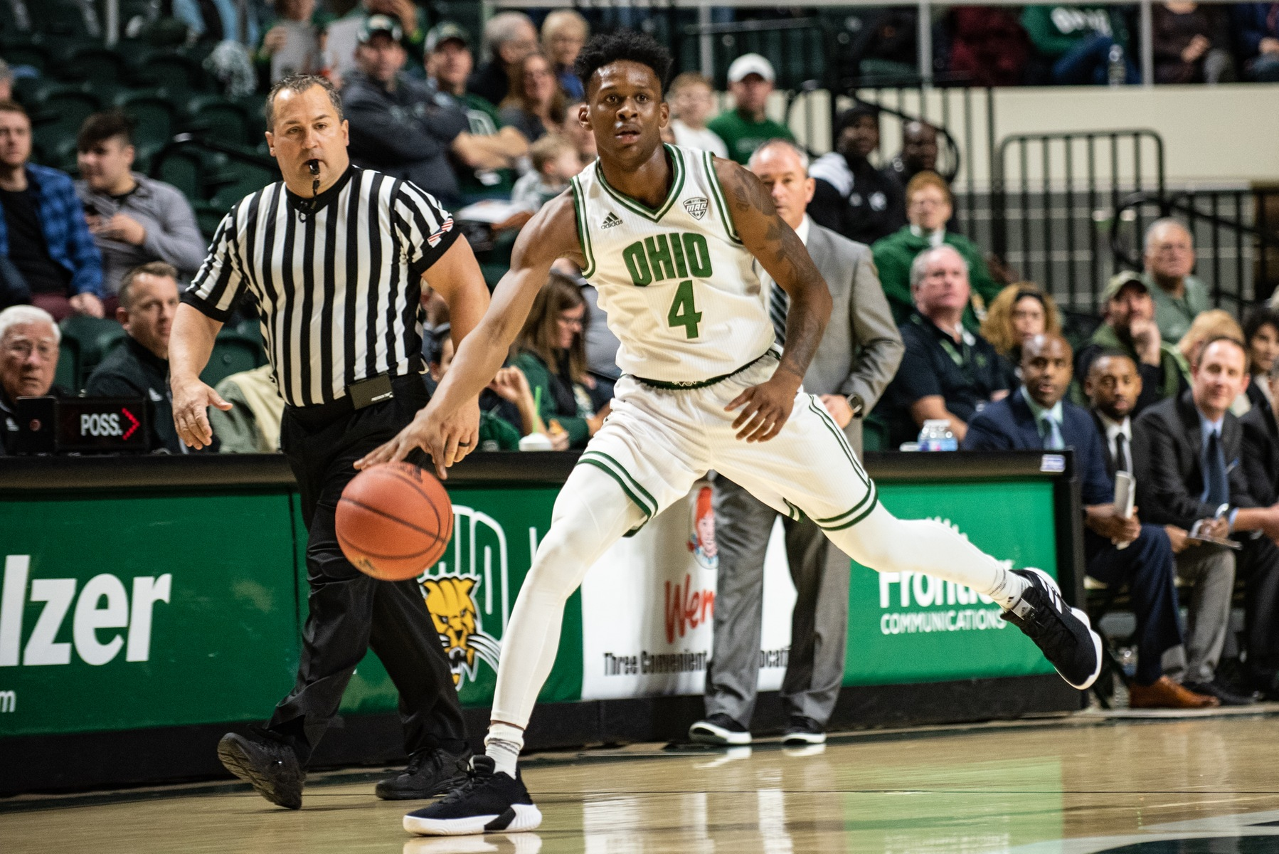 Ohio Men's Basketball Grabs 63-61 Win at Detroit Mercy