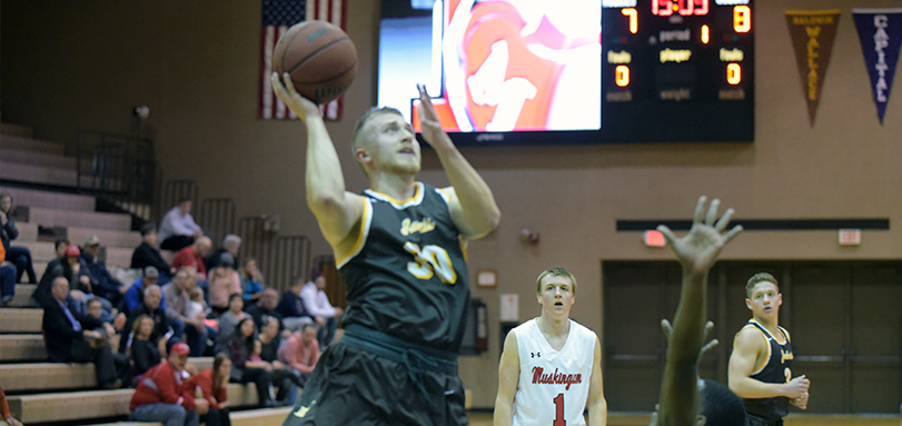 Cam Kuhn scored a game-high and season-best 32 points