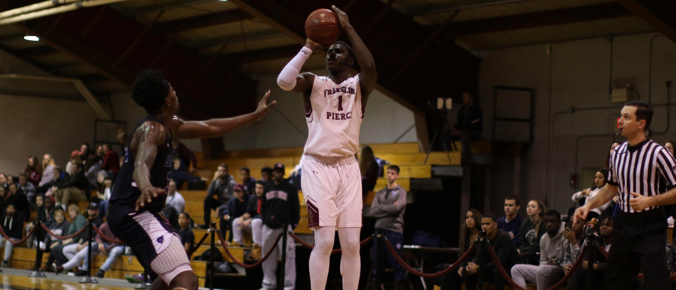 Sandiford Notches Sixth Double-Double, Ravens Topple Southern Connecticut 89-81