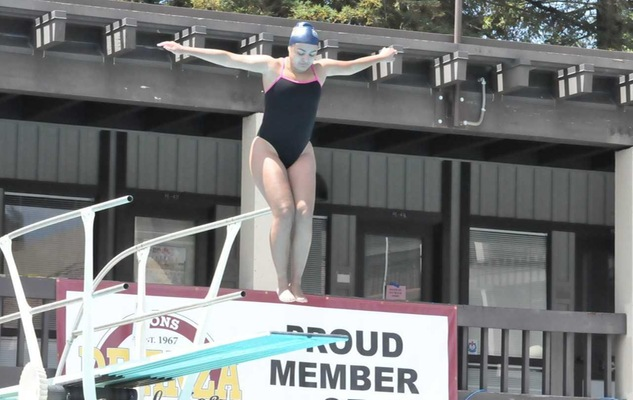 Alejandra Gomez Becomes Cypress College's Most Decorated Diver, Clinching Third CCCAA State Title