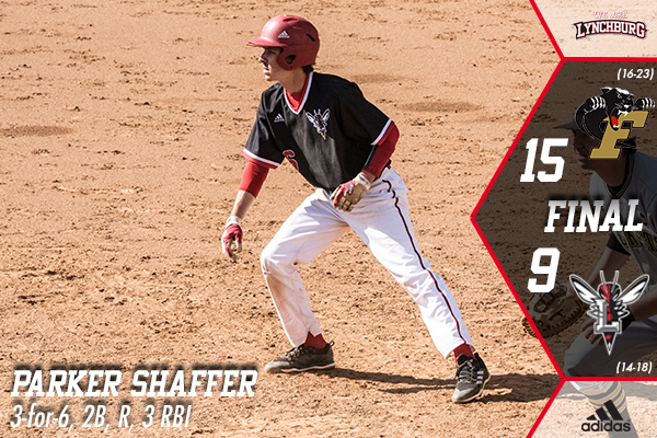 Parker Shaffer runs the bases.
