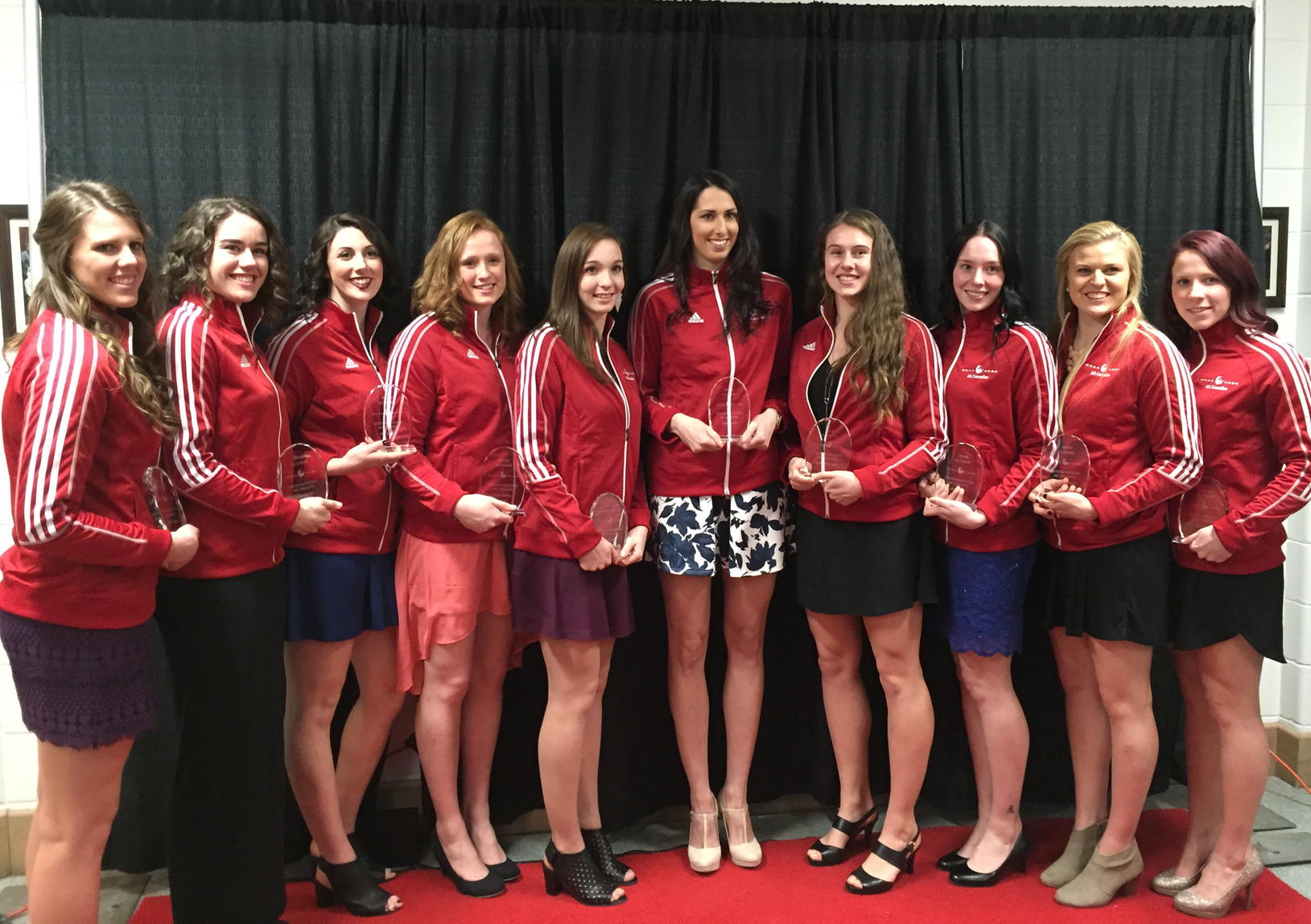 2016 CCAA Women's Volleyball All-Canadians