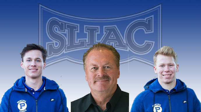 Principia Sweeps SLIAC Men's Tennis Awards