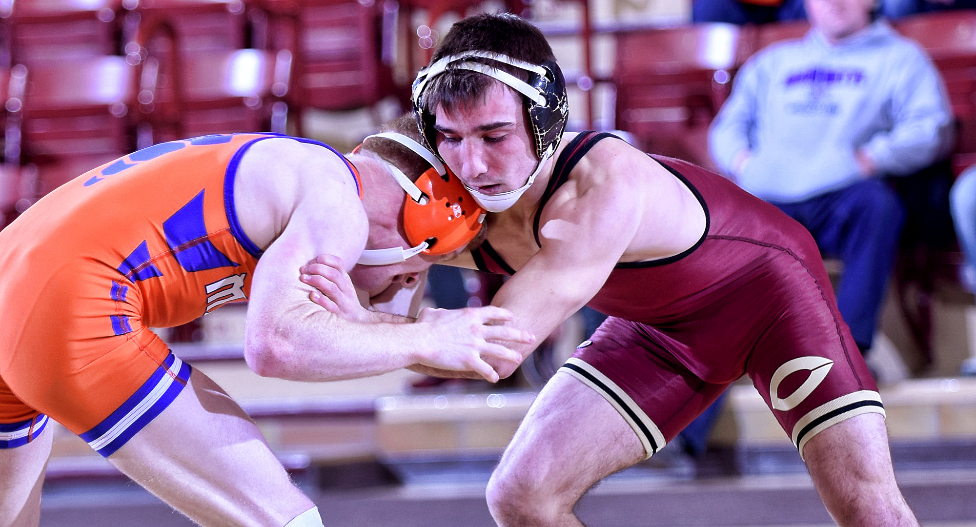 Sophomore Jake Nohre went 3-0, and staked the Cobbers to a lead in every match, as Concordia won all three dual meets at the Jim Fox Duals.