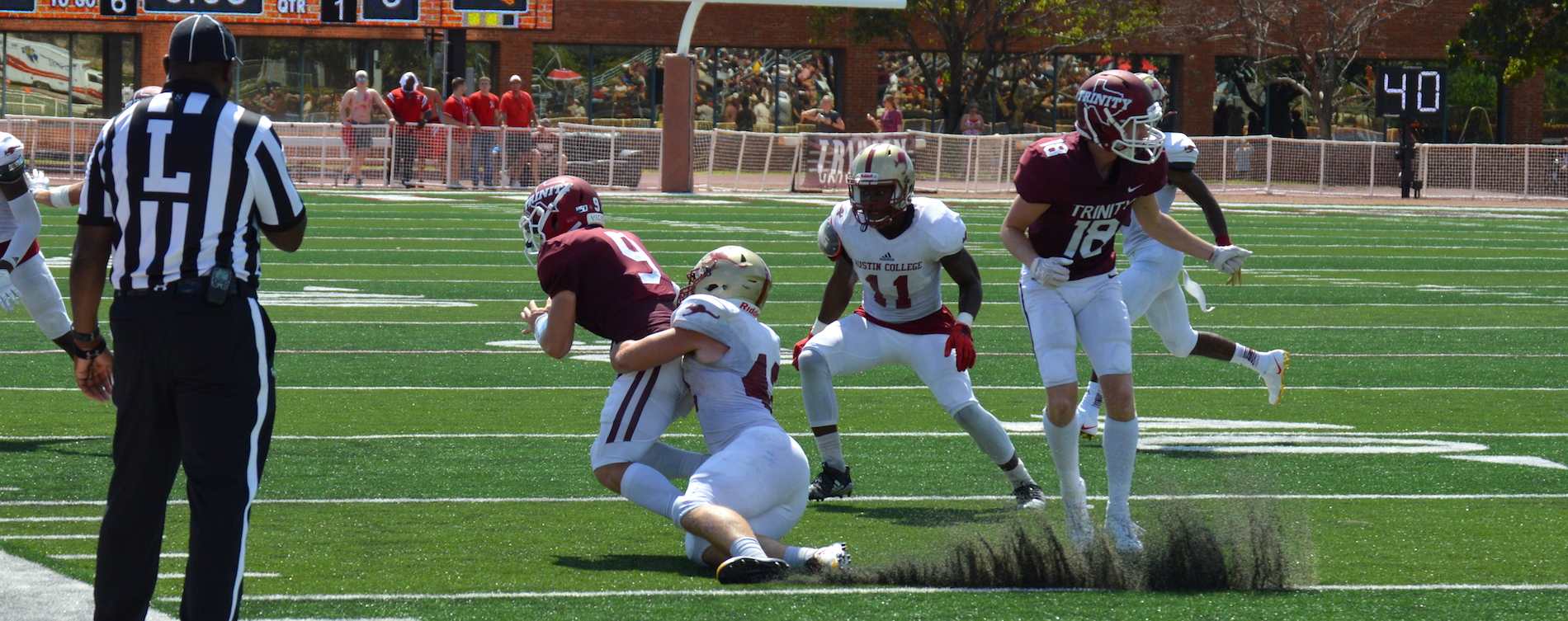 Austin College Football Falls to Trinity