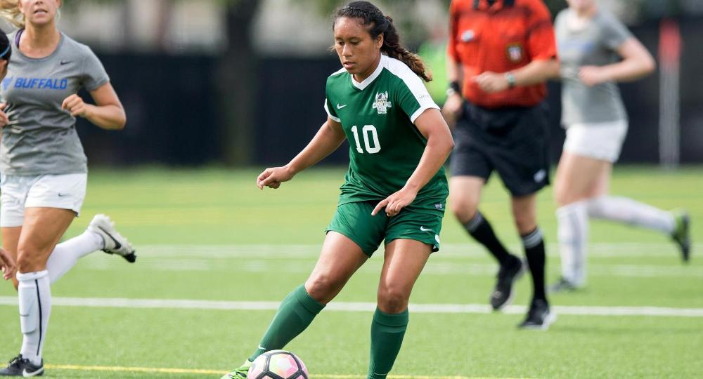 Lorenzo's Two Goals Help Vikings Top Canisius, 2-0