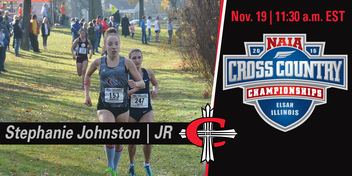 Stephanie will make her 2nd appearance at the NAIA XC National Championship