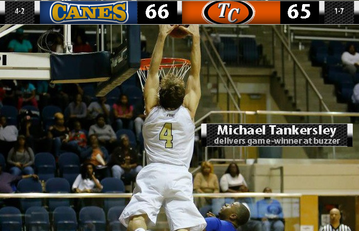 Tankersley's Game Winner Lifts GSW