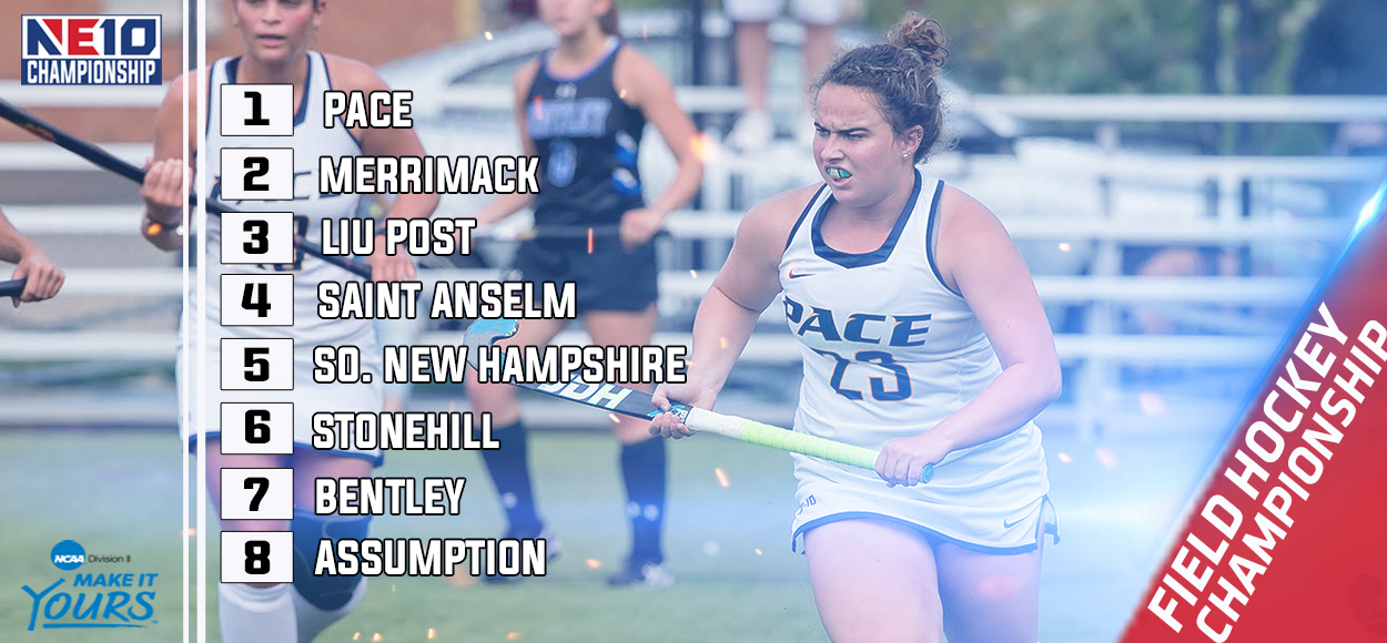 Embrace the Victory: Pace Earns Top Seed in NE10 Field Hockey Championship