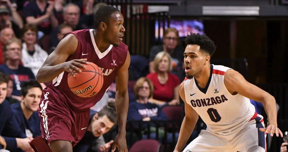 Men's Basketball Battled No. 4-ranked Gonzaga Before Falling 77-68 in WCC Semifinal