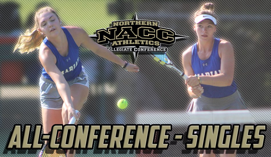 Marian women's tennis All-NACC selections