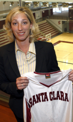 Santa Clara Names Jennifer Mountain As Women's Basketball Head Coach