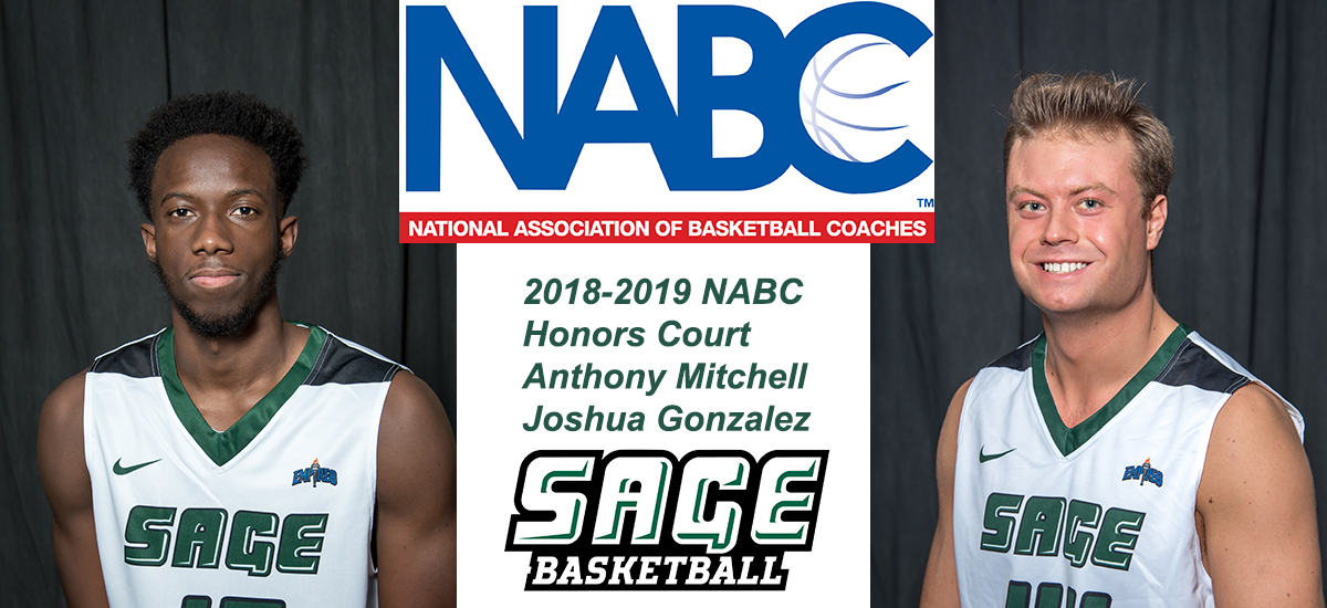 Gonzalez and Mitchell chosen to NABC's Honors Court