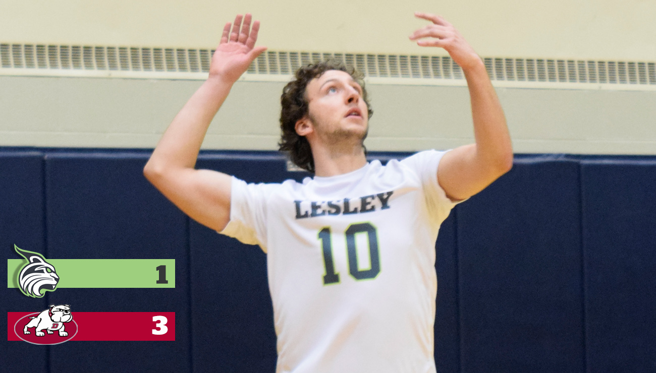 Men's Volleyball Falls to Non-Conference Dean