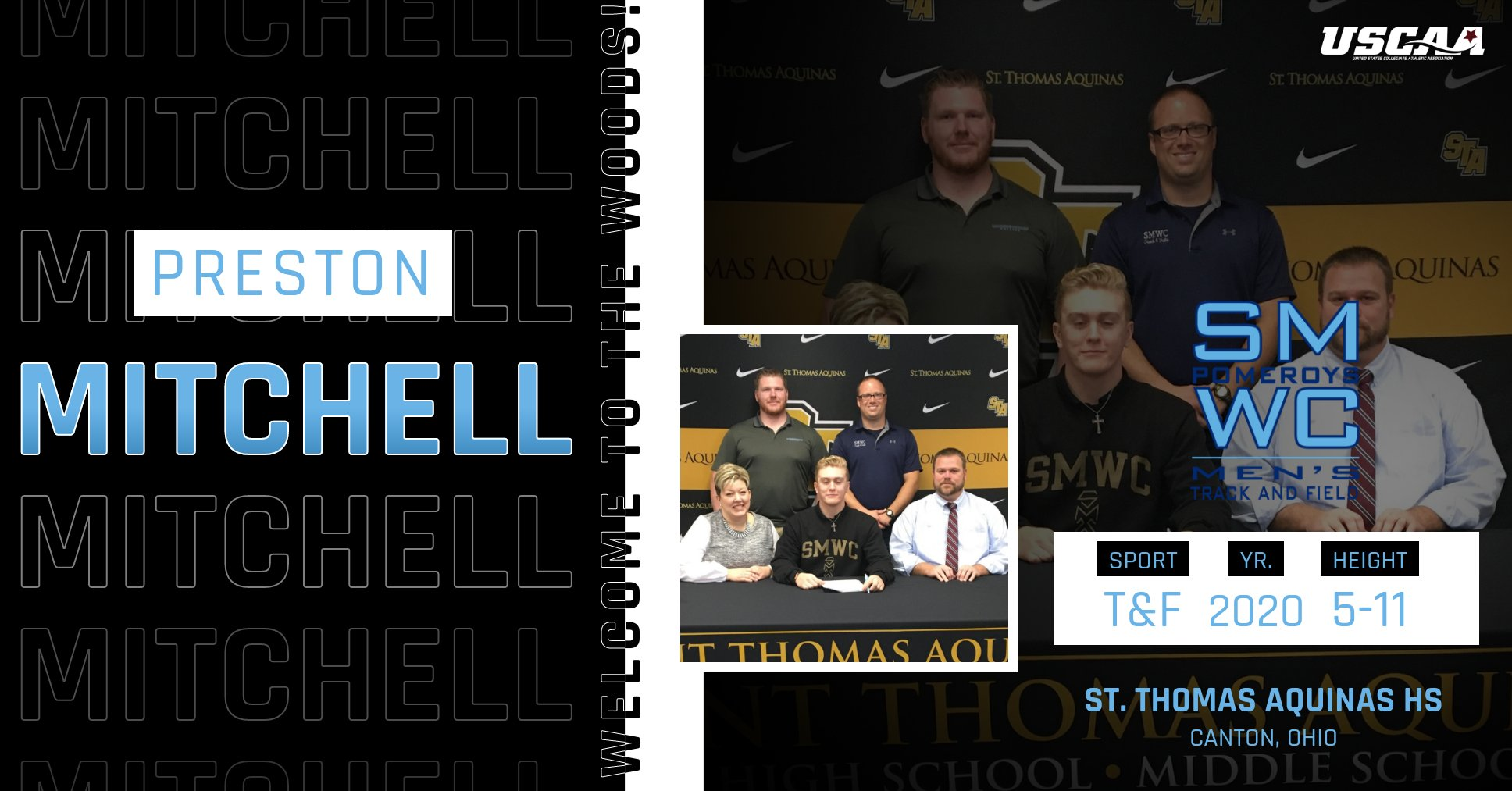 Track & Field Adds Ohio Thrower Preston Mitchell to 2020-21 Class