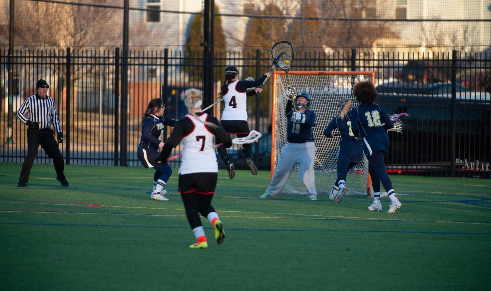 Women's Lacrosse Fall to Mustangs Saturday Morning