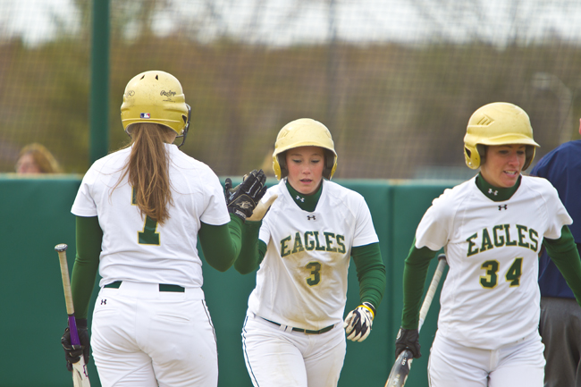Eagles Take Two from Huskies in Gorham