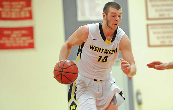 Record Setting Night by Ganley Helps Men's Basketball Win Third Straight