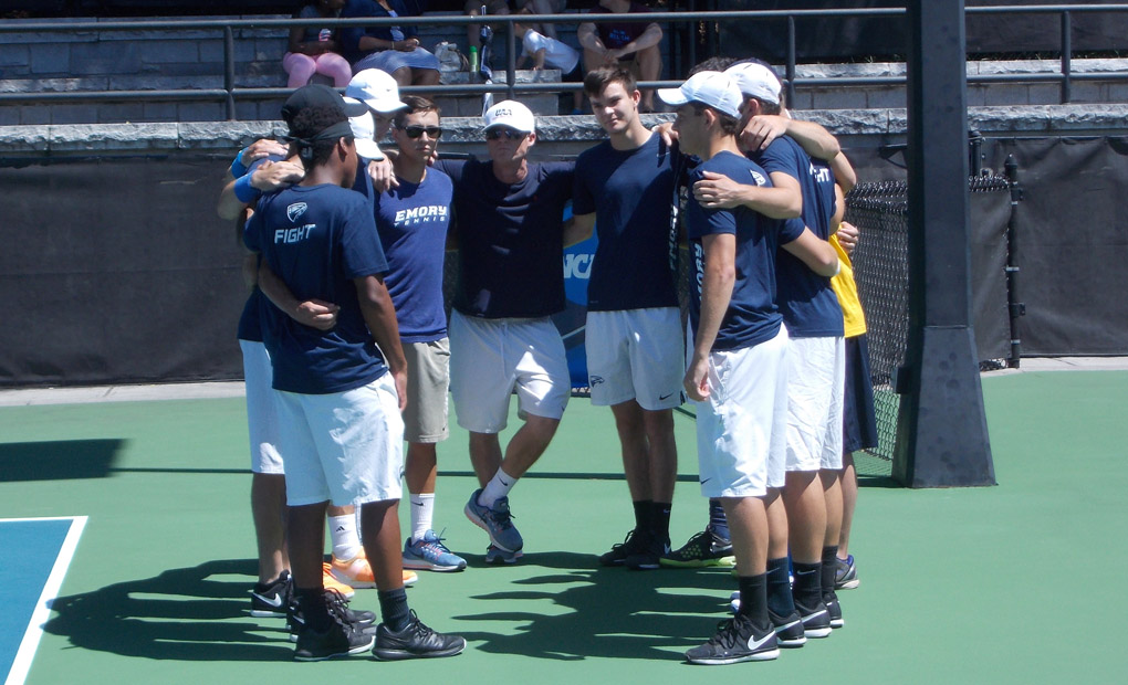 No. 2 Emory Men's Tennis Battles No. 4 Williams In Quarters of NCAA D-III Championships