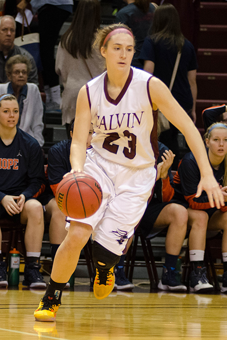 Anna Timmer, Calvin, Women's Basketball Athlete of the Week 12/12/16
