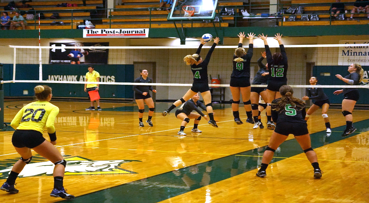women's volleyball vs Finger Lakes CC (POD)