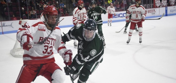 Dartmouth unable to find scoring touch, falls to Boston University