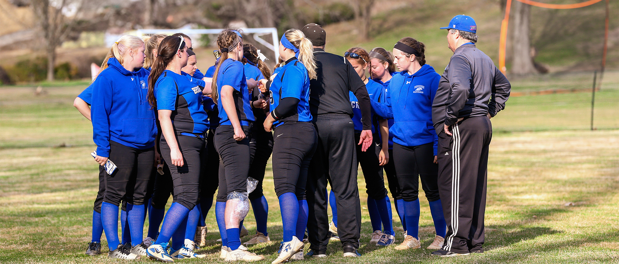 Softball ends season in NECC first round