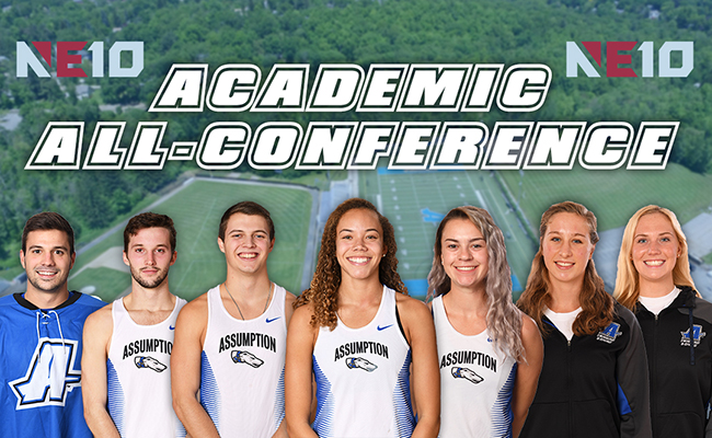 academic all-conference graphic