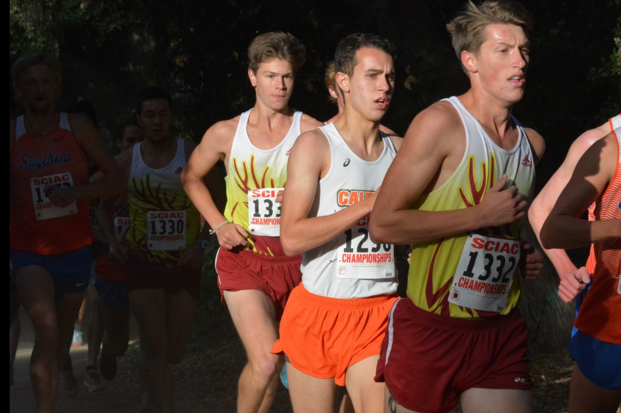 Men's XC Comes Together, Takes Fifth at SCIAC Championships