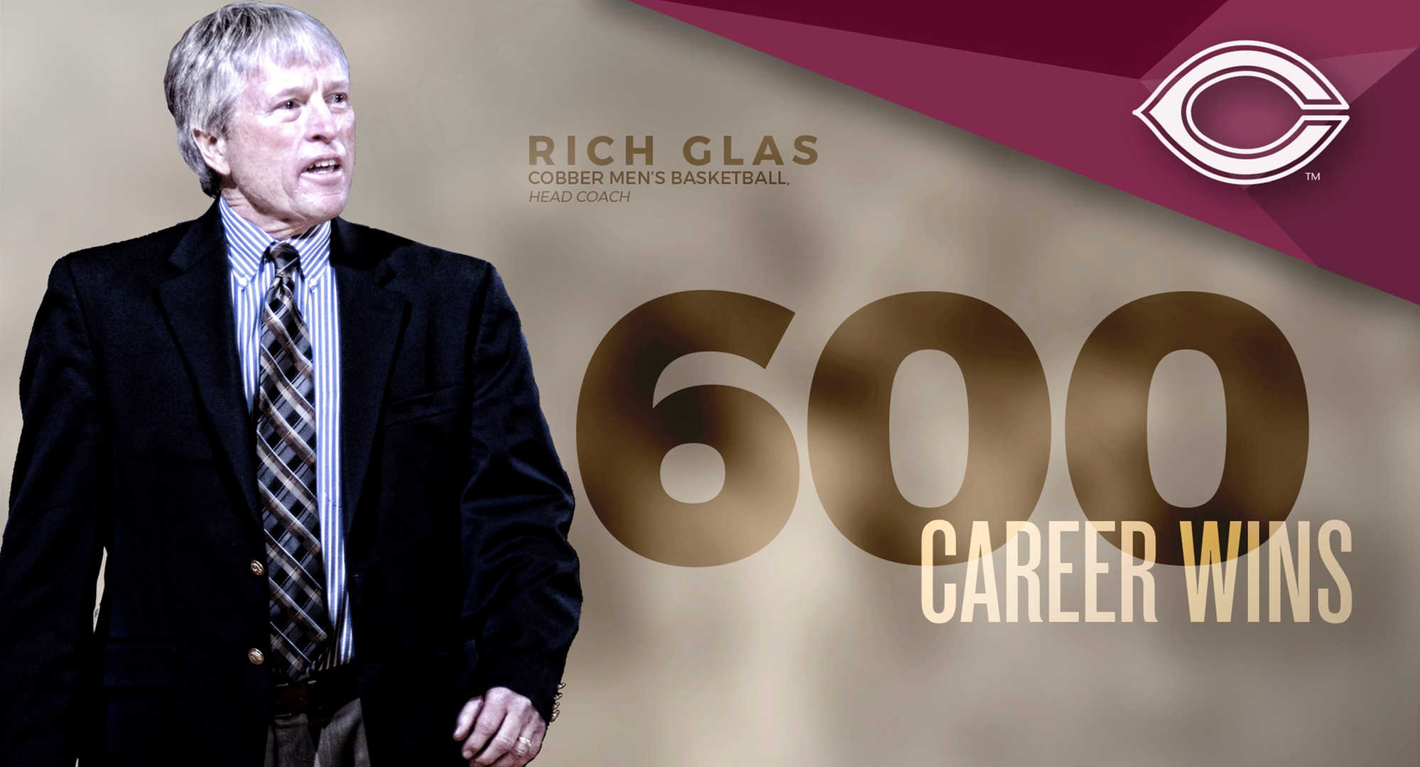 Glas Gets 600th Career Win