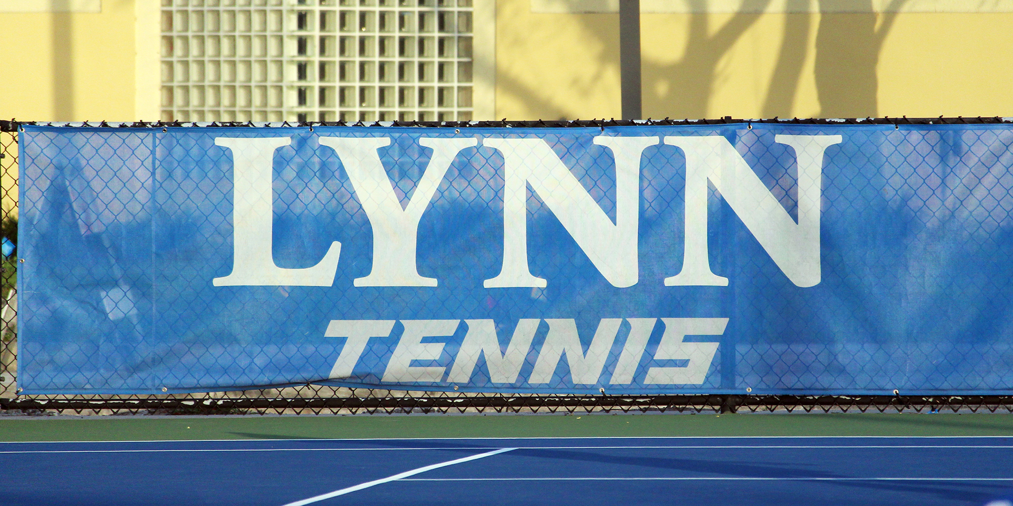 Lynn Tennis Postponed vs. West Florida Following Pair of 2-1 Leads