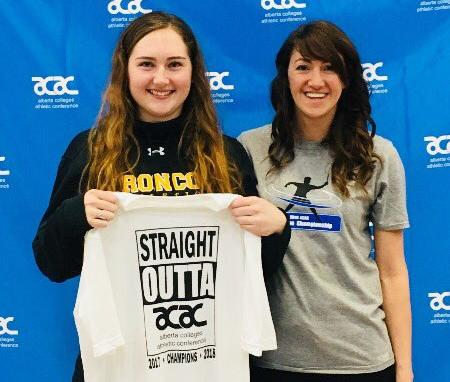Kaitlyn Dougan qualifies for CCAA Badminton National Championship