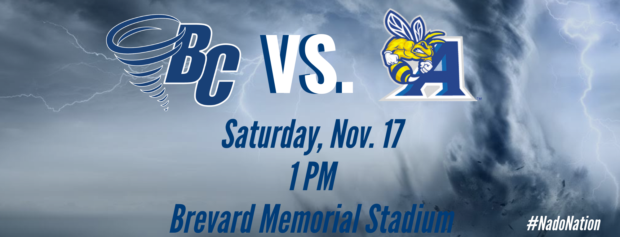 Brevard College to Play Allen University on Saturday, Nov. 17